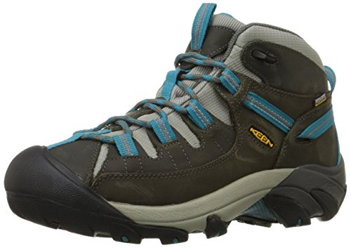 keen-womens-targhee-ii-mid-wp-low-trekking-and-walking-shoes-braun-gargoyle-caribbean-sea-45-uk
