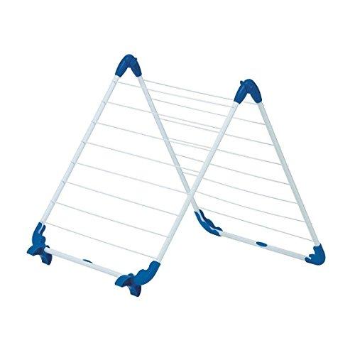 Wäschetrockner Wäscheständer (Gimi Alablock Wäschetrockner für die Badewanne aus Stahl, 10 m Trockenlänge)