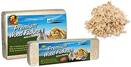 Foodie Puppies Hamster Bedding Wood Shaving for Hamster,Chinchillas,Guinea,Pig,Mice,Rabbit -Dust Free