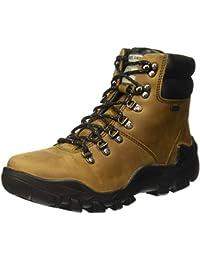Woodland Men's Camel Leather Boot 7 UK/India (41 EU)-(OGB 2975118)