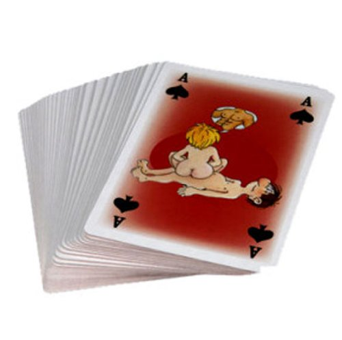 Kama Sutra Playing Cards Cartoon Character Kamasutra Fun Novelty KamaSutra Karma Karmasutra by OUT OF THE BLUE KG