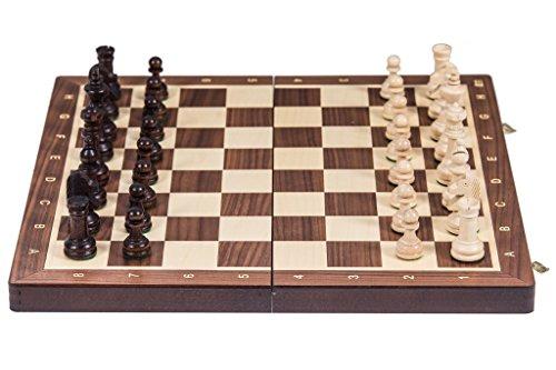 Square - Ajedrez Madera Nº 4 - Nogal - Tablero ajedrez