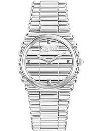Reloj mujer JEAN PAUL GAULTIER–borde Costa–Pulsera acero PVD–34mm–8504101