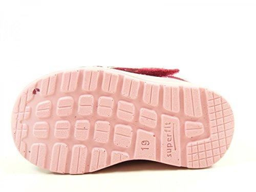 Superfit Mel, Chaussures Marche Bébé Fille pink