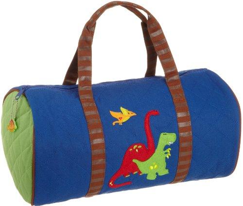 Stephen Joseph SJ830159 Gesteppte Tasche rund, Dinosaurier blau (Tasche Gesteppte Blau)