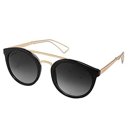 Laurels Oval Women\'s Sunglasses(Ls-Pnpe-020206 42 Black)