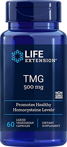 Life Extension TMG 500 mg, 60 Capsule