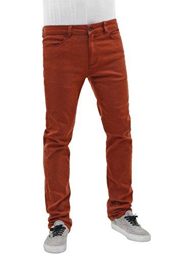 Reell Skin Stretch jean brown orange/marron