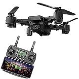 Drone GPS avec Caméra, Transmission Graphique en Temps réel, Mode sans Tête, Fonctionnement par Une Seule Touche, Positionnement GPS/Caméra WiFi 5 Millions/Télécommande 5G