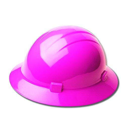 Erb Safety Products 19199americana Full Brim Mega Ratchet hard Hat, size: 61/2–8, rosa