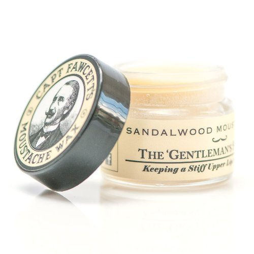 Captain Fawcett Moustache Wax Sandalwood 15ml, 1er Pack (1 x 15 ml)