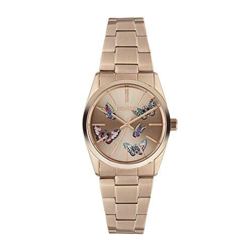 Orologio unisex Zadig & Voltaire al quarzo quadrante rose gold 36mm e braccialetto rosa Gold in acciaio zvt010