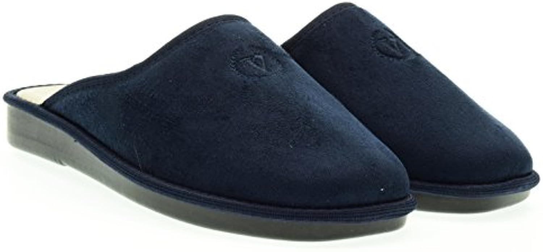 Valleverde Mann Ciabatta 37801 Blue  Billig und erschwinglich Im Verkauf