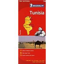 Michelin Tunisia (Michelin Maps)