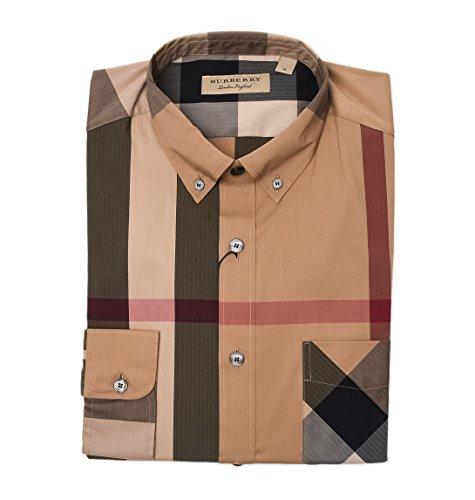Burberry camicia uomo 4045831 cotone multicolor