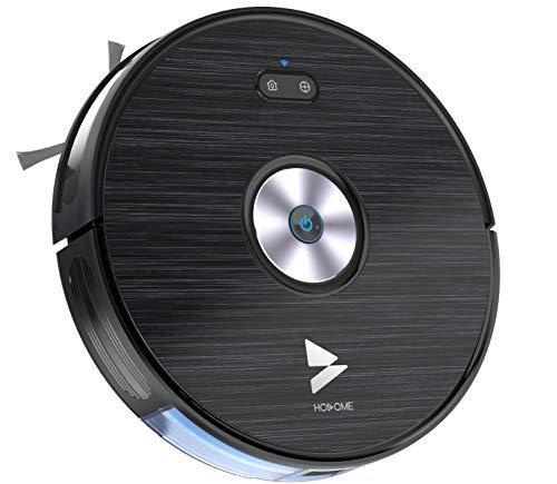Hosome Saugroboter mit Wischfunktion WLAN Staubsauger Roboter 1500Pa Alexa/App-Steuerung, 300ML elektrischer Wassertank, Automatische Aufladung, für Tierhaare, Teppiche, Fliesen, Hartböden