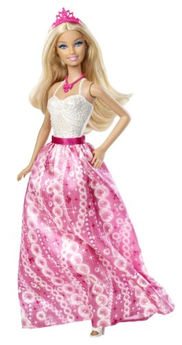 (Mattel X9439 - Barbie Party Prinzessin, weiß-pink, Puppe)