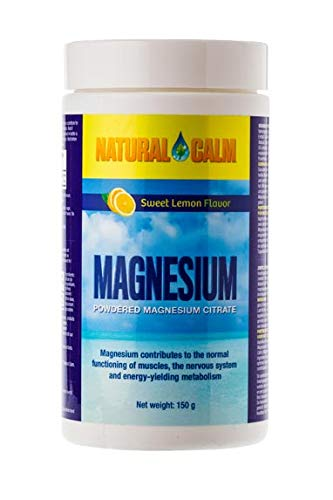 Natural Vitality Calm Magnesium-Citrat Pulver, 150g (Zitrone, 1 Stück) -