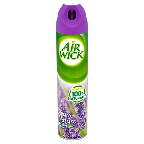 Air Wick Air Freshener Spray Colours Of Nature Purple Lavender Meadow Aerosol 240 Ml (pack Of 24) Image