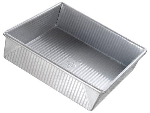 Square Brownie Pan (USA Pan Bakeware aluminisierten Stahl Kuchenform 9