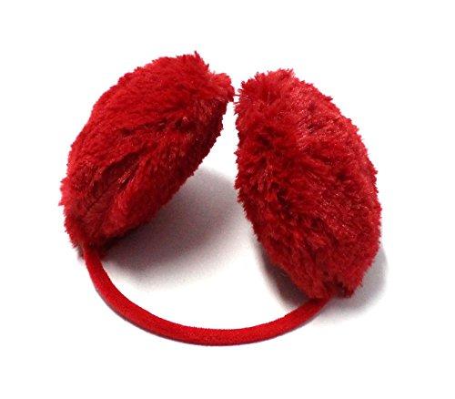 Ohrenwärmer Ohrenschützer Ohrenschutz warme Ohren rot