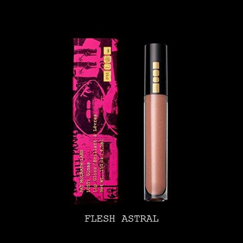 Pat Mcgrath Lust: Gloss flesh Astral (rosa con oro Shimmer)