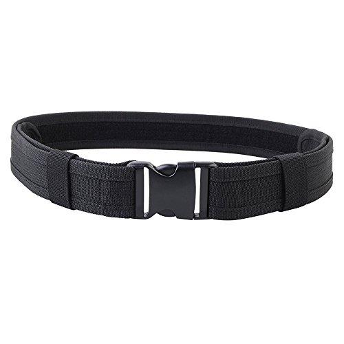 Mosie Cinturón táctico de policía de combate, resistente, con hebil