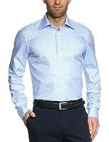 Tommy Hilfiger Tailored Herren Businesshemd Maxwell Fit ShtCHK13143 / Tt57829687