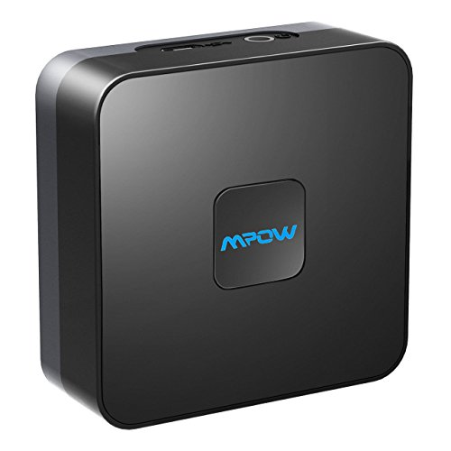 Mpow Bluetooth Receiver for Music Streaming sound System, RCA & 3.5mm Aux Compatible, 15 Hours Built-In Battery…