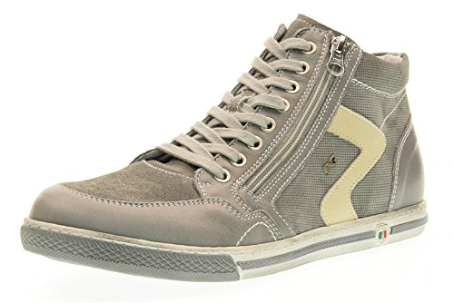 NERO GIARDINI uomo sneakers alta P704820U/105 taglia 41 Grigio