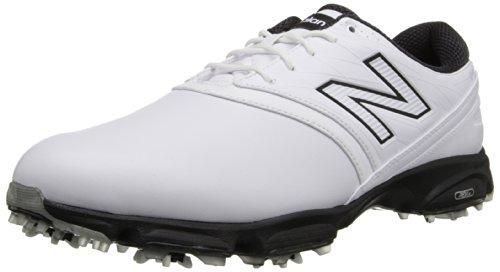 New Balance Uomo NBG2001Golf Shoe, Bianco