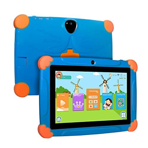 """Xgody Kinder Tablet 17,8 cm (7 Zoll), 17,8 cm (7 Zoll) HD Display Edition für Kinder, Android 8.1 GMS, 16 GB, Quad Core, Blau blau blau 7"""" Display"""