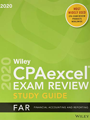 Wiley CPAexcel Exam Review 2020 Study Guide + Question Pack: Financial Accounting and Reporting