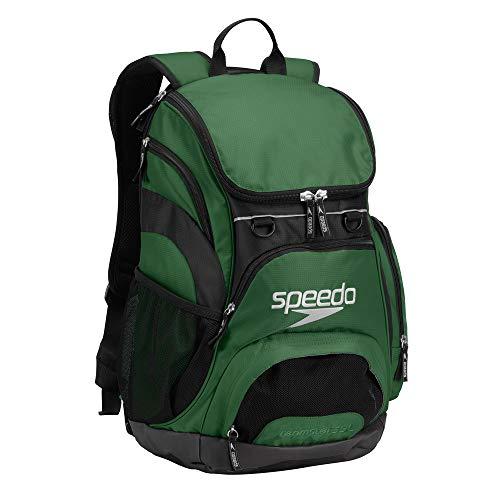 Speedo groß Teamster Rucksack, 35-Liter, Unisex, Hunter Green/Black, 35-Liter Hunter Green-rucksack