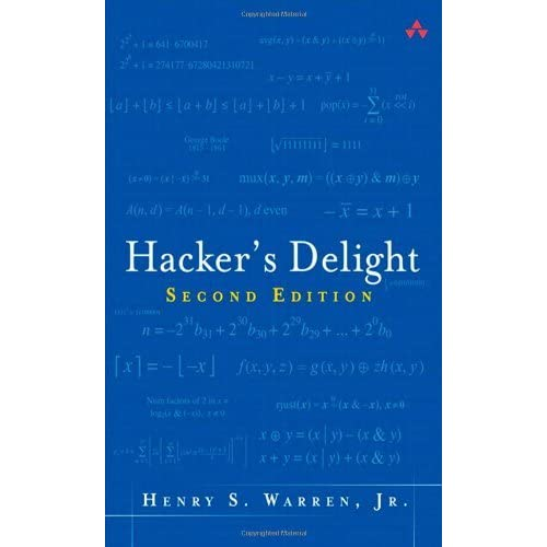 Hacker's Delight by Henry S. Warren (2012-09-25)