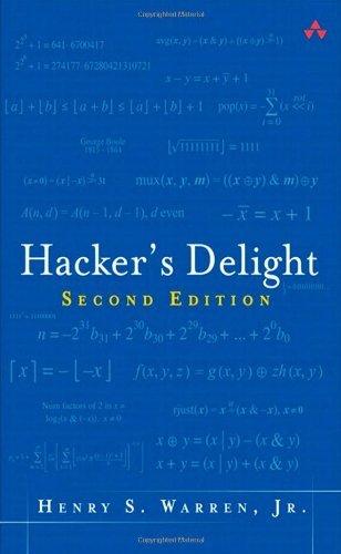 Hacker's Delight by Henry S. Warren (2012-09-25)
