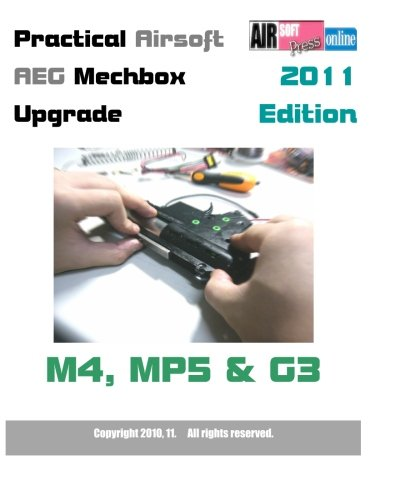 PRACTICAL AIRSOFT AEG MECHBOX UPGRADE 2011 EDITION M4  MP5 & G3