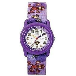 Timex Kids T7B5814E Time Teacher Purple Monkey Watch