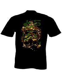 Men's Camouflage Stormtrooper Helmet T Shirt