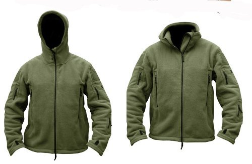 Kombat UK Recon Tactical Fleece Hoodie Grün - Olive Green