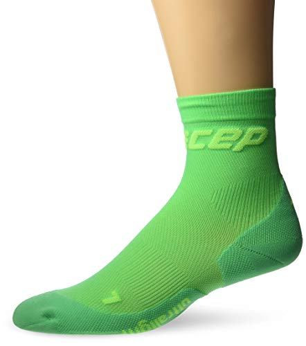 CEP Herren Ultralight Short Socks, hellgrün, IV