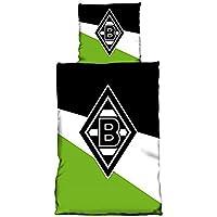 Bertels 1/051410 Borussia Mönchengladbach Bettwäsche Schrägstreifen