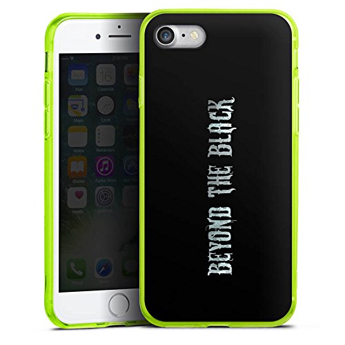 Apple iPhone 8 Silikon Hülle Case Schutzhülle Beyond the Black Merchandise Fanartikel Silikon Colour Case neon-grün