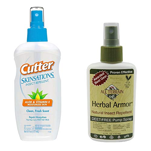 All Terrain Natural Insect Repellent & Cutter Skinsationsl 7% DEET Backup Kit