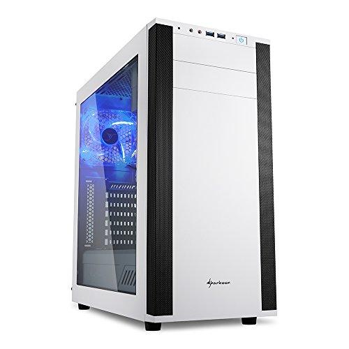 Sharkoon M25-W 7.1 PC Gehäuse weiß (1000w Surround-sound-system)