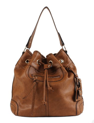 41qDTHxQ FL - BEST BUY #1 Scarleton Large Drawstring Handbag H107804 - Brown EU Reviews and price compare uk
