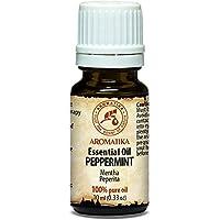 Pfefferminzöl 100 % naturreines ätherisches 10ml 0,33 oz, Minzöl, Reine & Natürliche Pfefferminz Öl - Mentha Piperita... preisvergleich bei billige-tabletten.eu