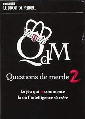 Le Droit de Perdre - JDCLON008 - Questions de Merde 2 - Jeu de 12 Cartes