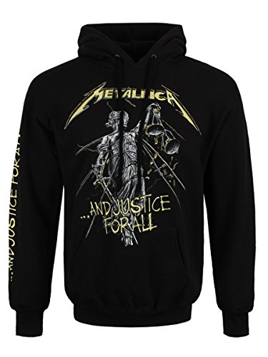 Metallica ...And Justice For All Sudadera con capucha Negro XL