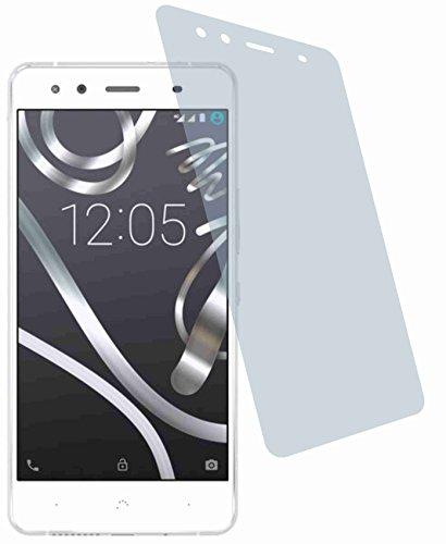 4ProTec BQ Readers Aquaris X5 (2 Stück) Kratzfeste Premium Bildschirmschutzfolie Displayschutzfolie ANTIREFLEX - Kratzfest UND PASSGENAU